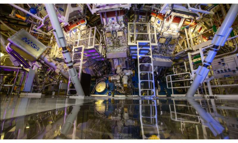 National Ignition Facility sets new laser energy record