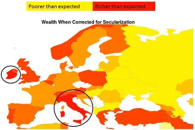 Secular countries can expect future economic growth, confirms new study