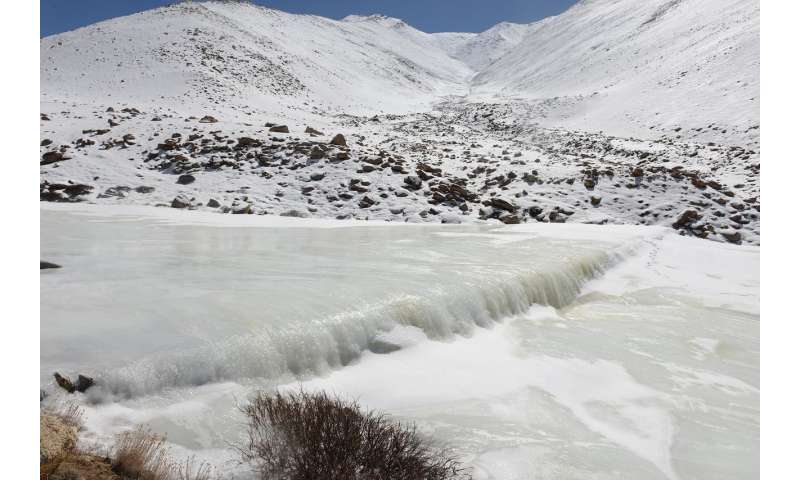 Artificial glaciers in response to climate change?