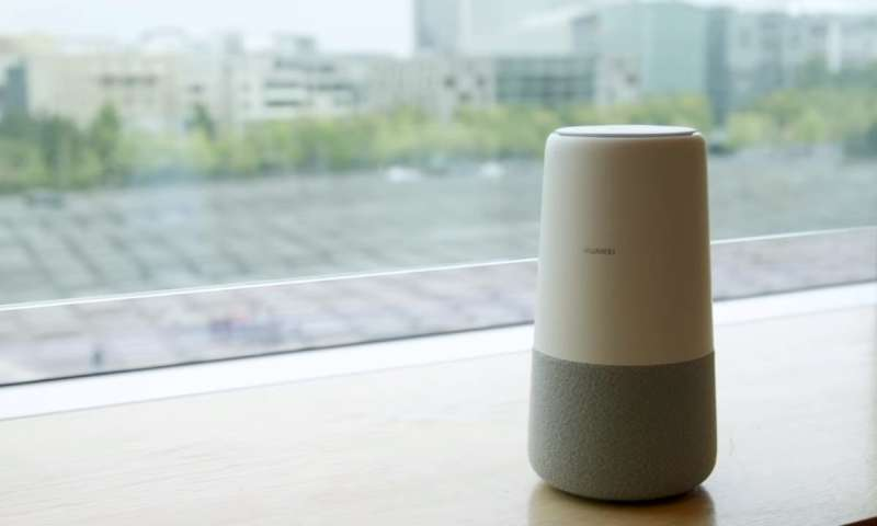 Huawei joins smart speaker crowd with standout router