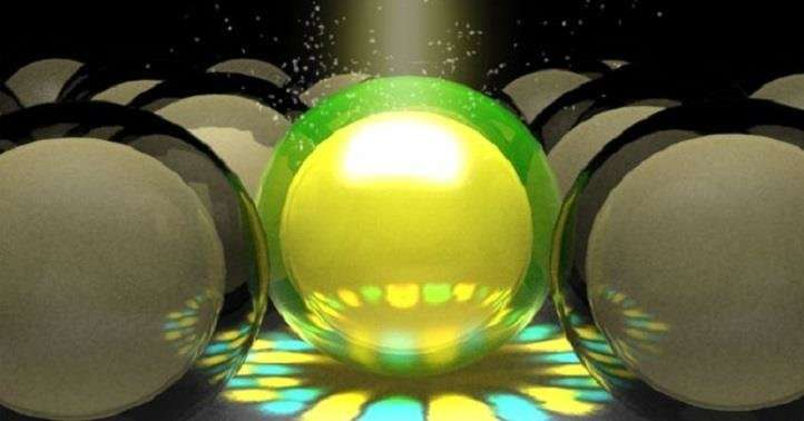 Nanoparticles with a shell structure improve the performance of zinc-oxide photodetectors