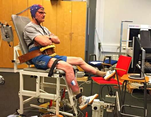 Changes in older people's central nervous system lead to compromised ability to sense movement