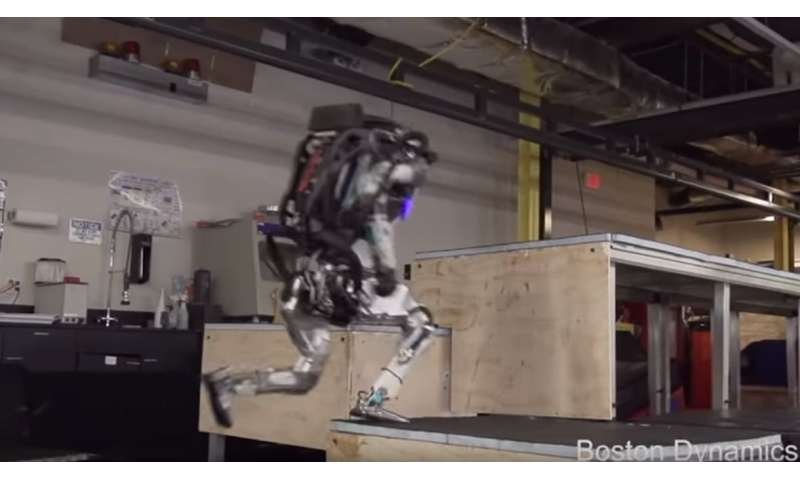 Boston Dynamics hands Atlas a parkour repertoire