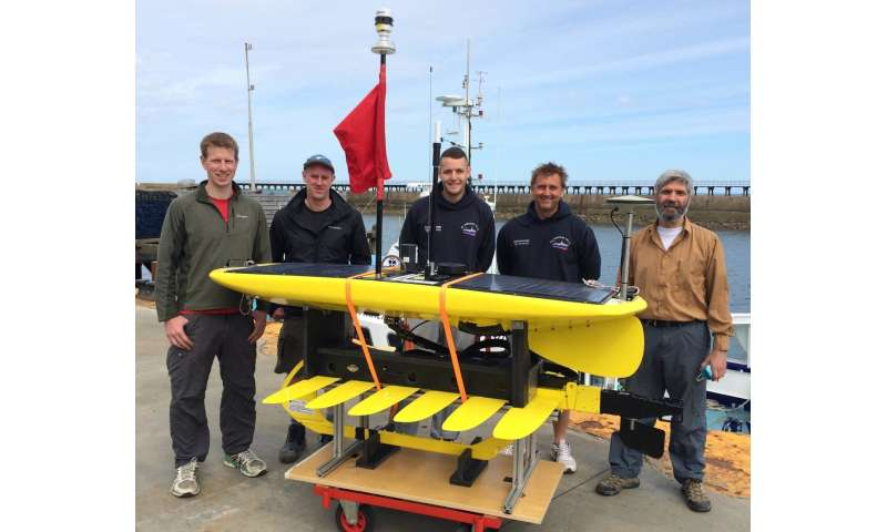 Marine robots could improve forecasts of European weather in the future
