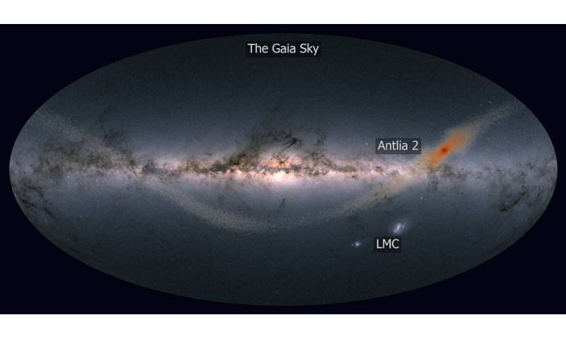 Researchers report the most diffuse galaxy in the universe