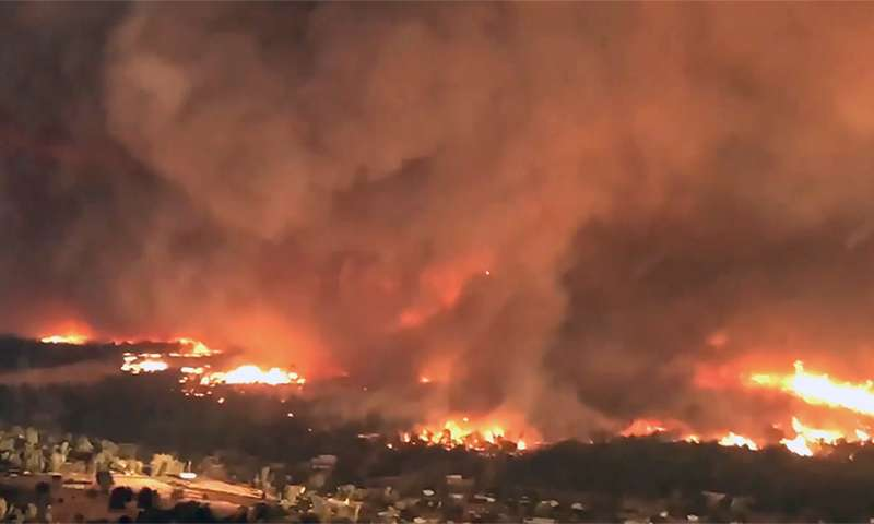 Atmospheric scientists find causes of firenado in deadly Carr Fire