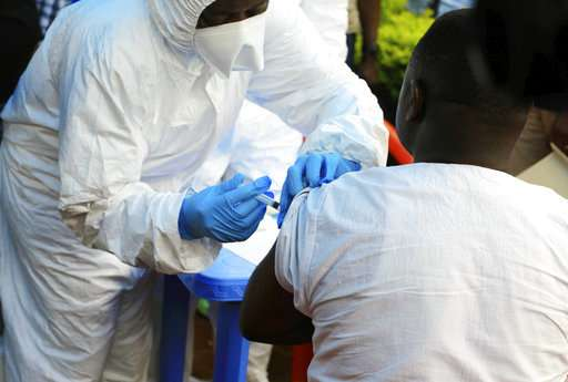 Ebola vaccinations begin in Congo's latest deadly outbreak