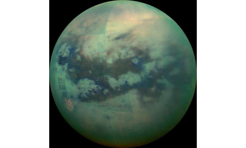 Researcher sets eyes on Saturn's largest moon