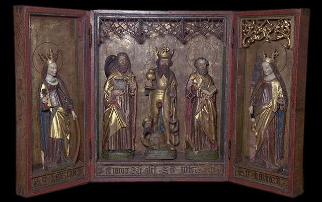 Research reveals origins of Middle Ages altarpieces