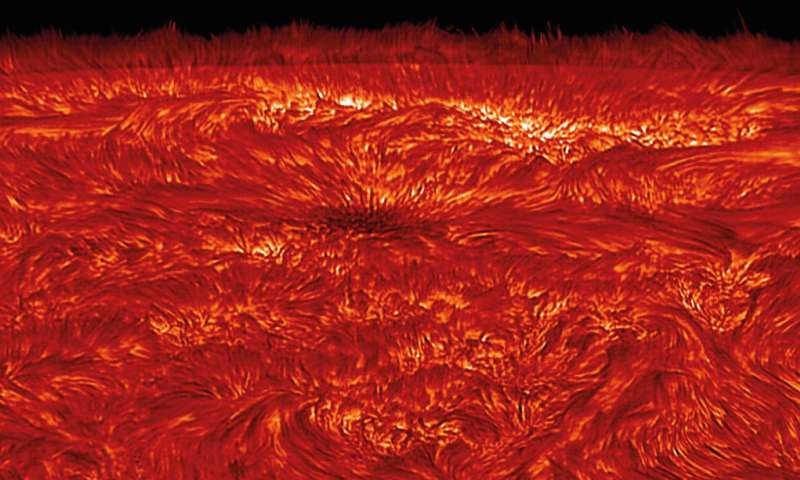 Scientists crack 70-year-old mystery of how magnetic waves heat the sun