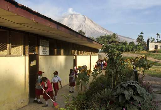 Volcanic blast reshaped summit of Indonesia's Mount Sinabung