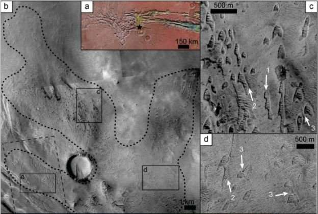 """Scientists discover """"ghost dunes"""" on Mars"""