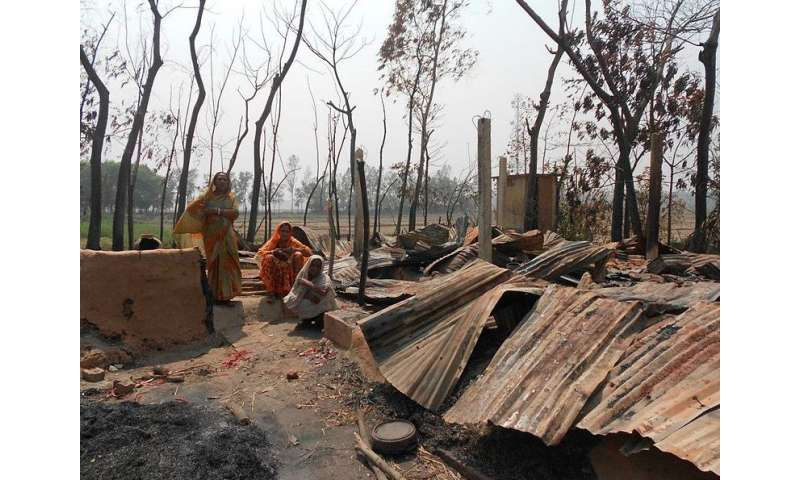 Climate change hits poorest hardest, new research shows