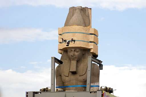 Egypt placed the Colossus of Ramses II at the entrance of the new museum