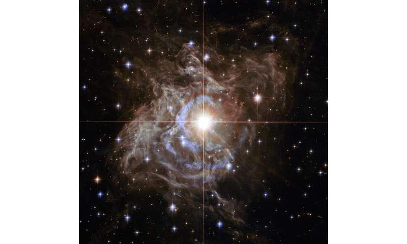 Image: Hubble's cosmic holiday wreath