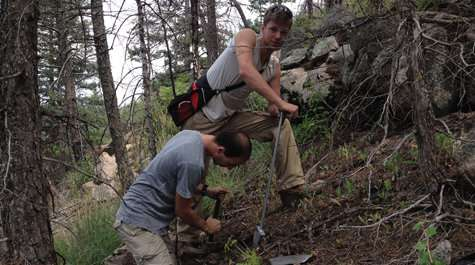 Research team studies geology of wildfires