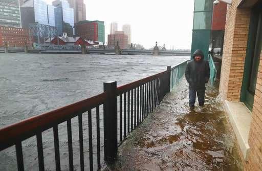 Rising seas, raising questions in low-lying Boston district