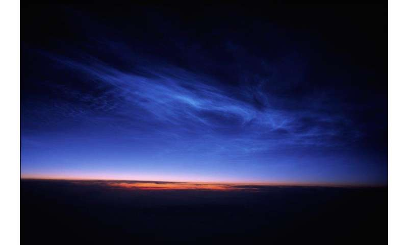 Climate change is making night-shining clouds more visible