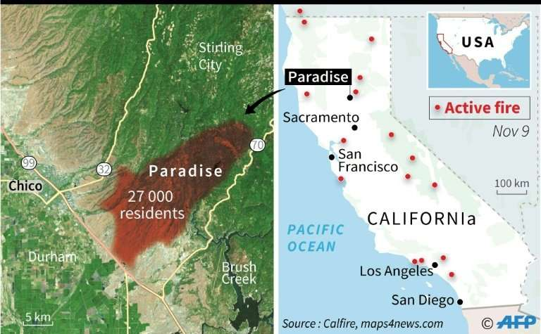 Paradise Lost California Fires Rage On