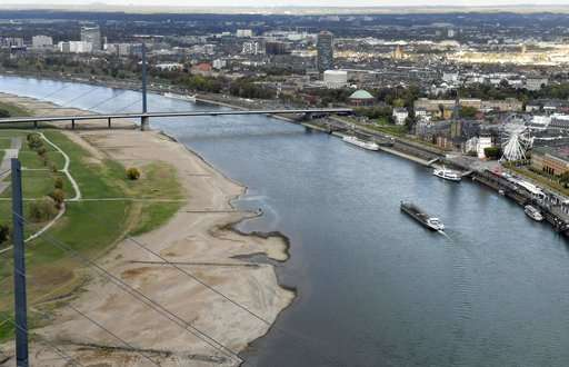 Cry me a river: Low water levels causing chaos in Germany