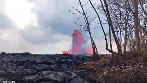 Current lava flows are hottest, fastest of latest eruption