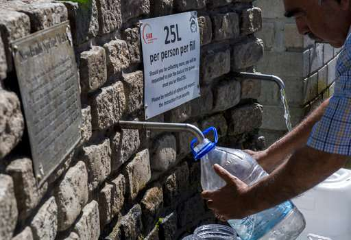'Day Zero': Water shut-off looms in South Africa's Cape Town
