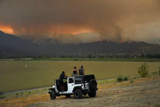 Kids swapping outdoor play for TV as smoke chokes California