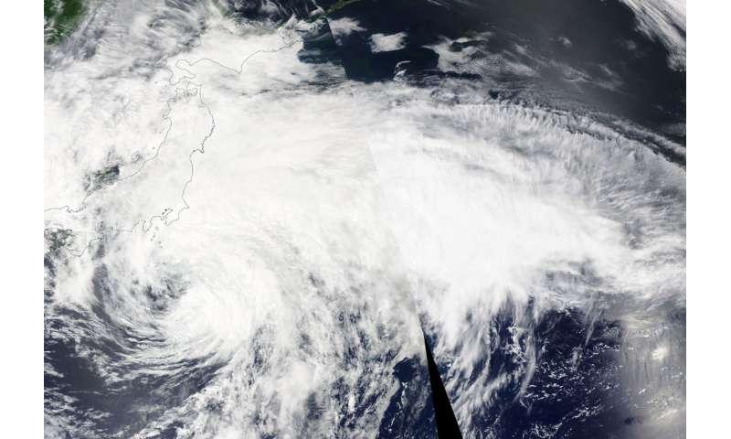 NASA finds Tropical Storm Maliksi weakening, expanding