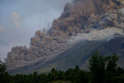 Philippines braces for long emergency as volcano erupts