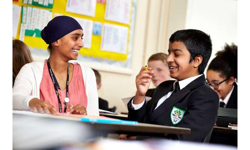 80 percent of teachers say character education would improve school grades