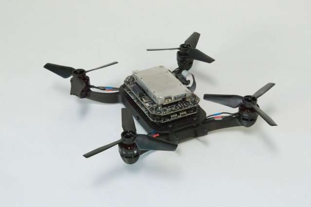 Researchers develop virtual-reality testing ground for drones