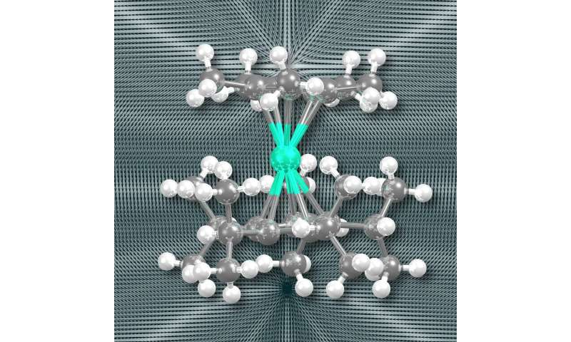 Scientists discover first high-temperature single-molecule magnet