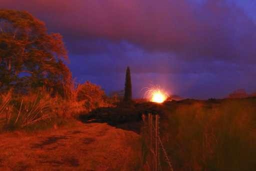 Hawaii volcano generates toxic gas plume called laze