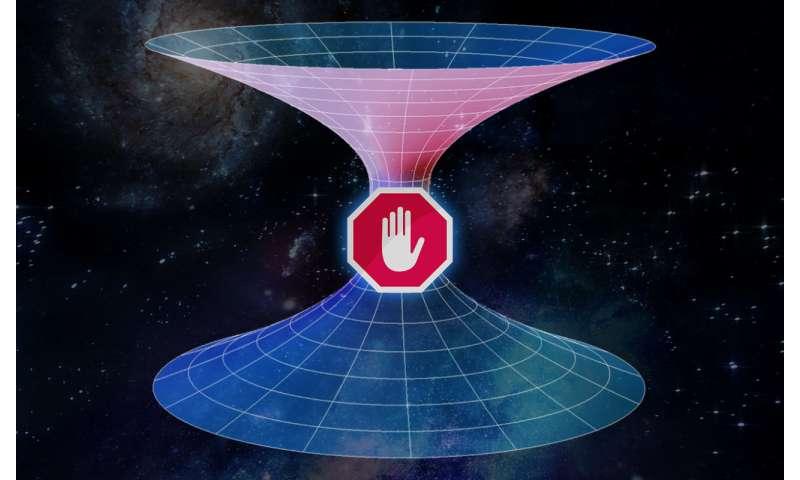 Scientists Dismissed the Idea of Travel through Wormholes