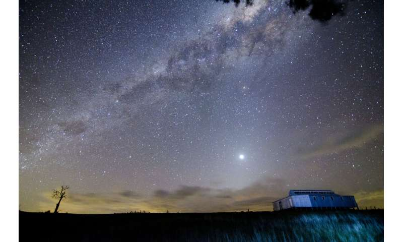Aboriginal traditions describe the complex motions of planets, the 'wandering stars' of the sky
