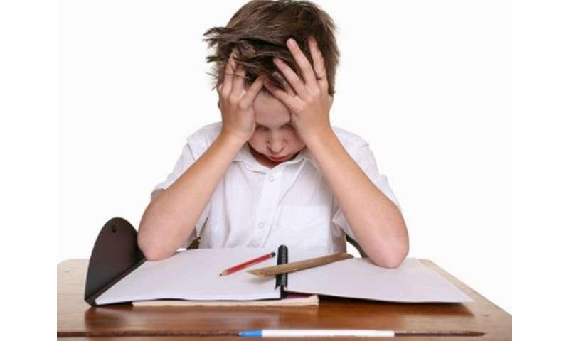 Academic underachievement with tourette, tic disorders
