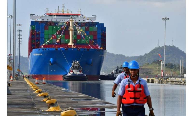 A Chinese firm has won the $1.4 billion contract to build a bridge over the Panama Canal