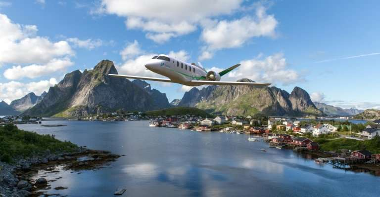 Faced with global warming, aviation aims to turn green