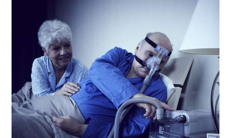 Adherence to sleep apnea treatment affects risk of hospital readmission