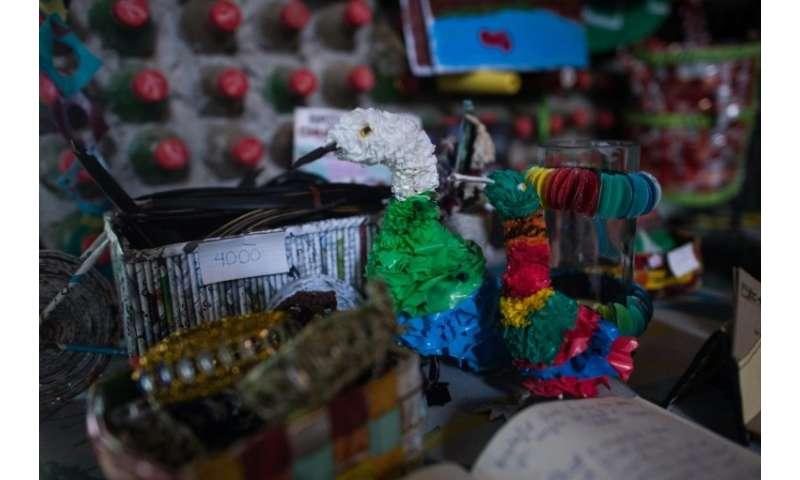 Myanmar enterprise tries to make trash trendy