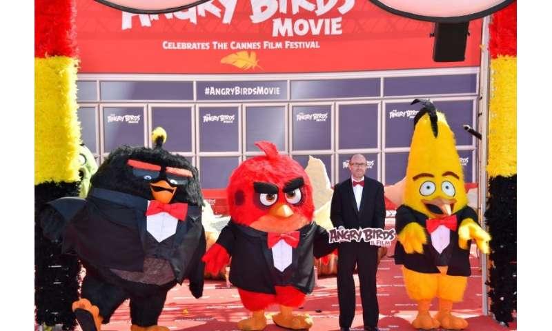 Rovio's shares fly high on Angry Birds 2 success
