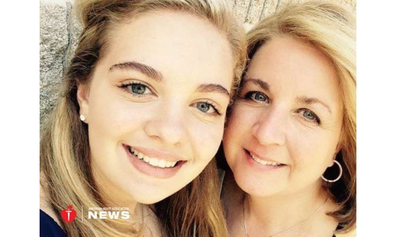 AHA: A daughter's school lesson helped save a mom's life