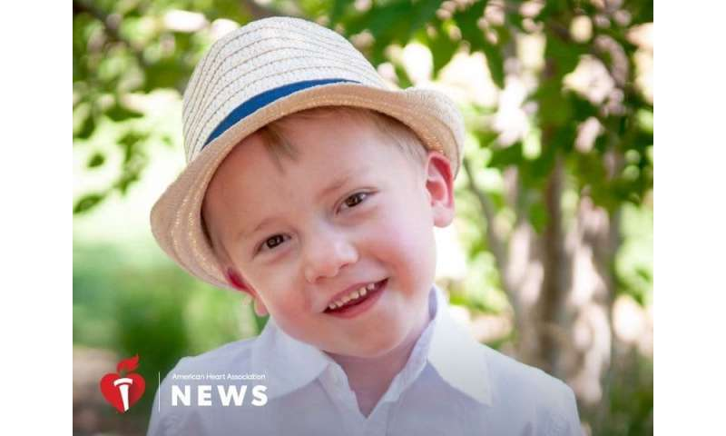 AHA: boy with heart defects thrives after 'Time bomb' delivery