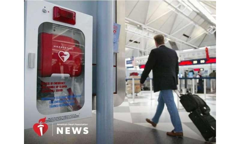 AHA: defibrillators can help kids survive cardiac arrest, too