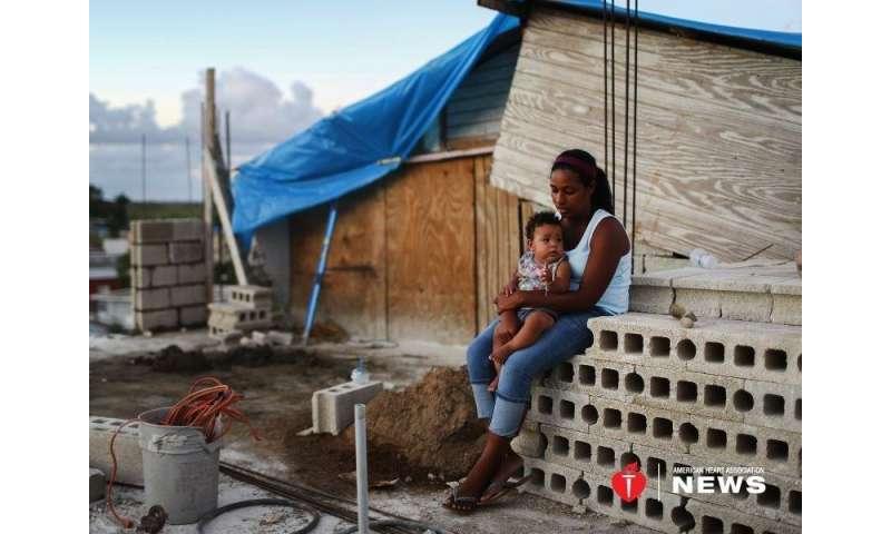AHA: health concerns haunt puerto rico as new hurricane season begins