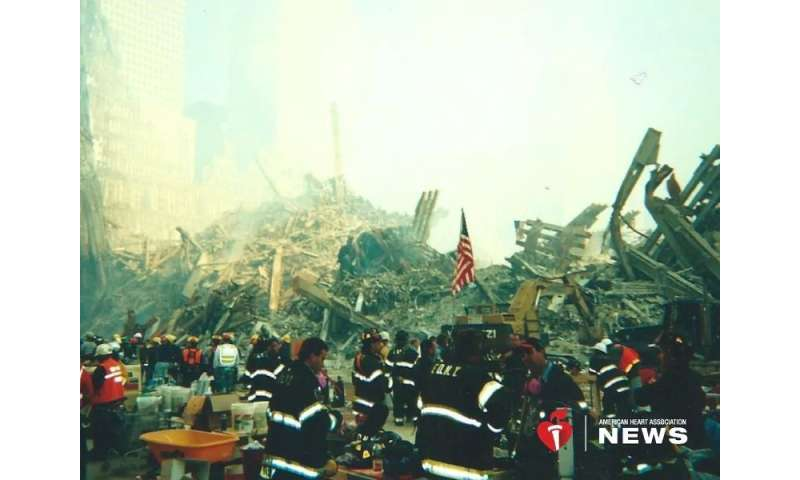 AHA: heart health research of 9/11 survivors slowly realized, 17 years later