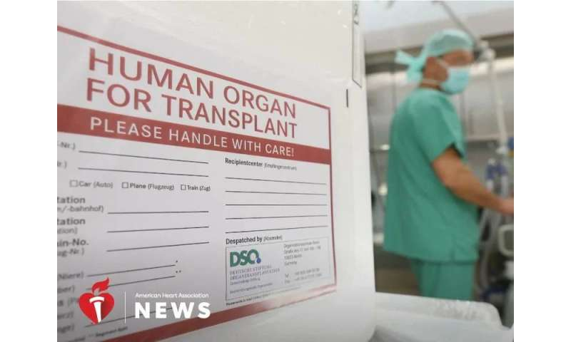 AHA: hearts from unusual donors could help meet growing transplant demand