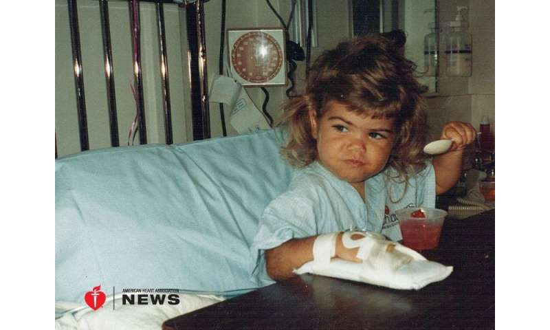 AHA: heart transplant survivor shakes off sheltered childhood to enjoy life