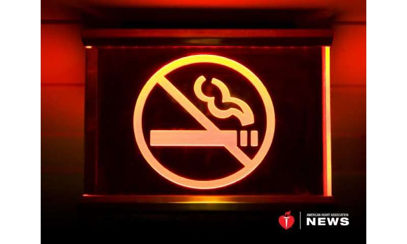 AHA: smoke-free laws do seem to help young adults' hearts