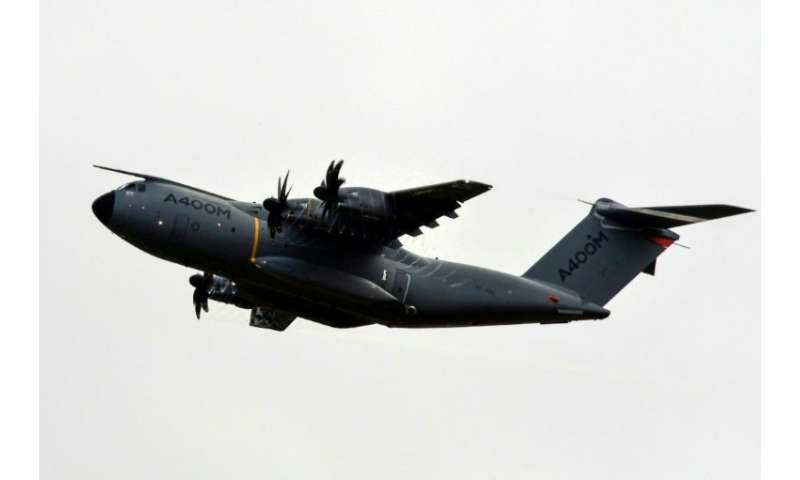 Airbus took a new 1.3-billion-euro charge against its A400M four-engine turboprop military transport aircraft